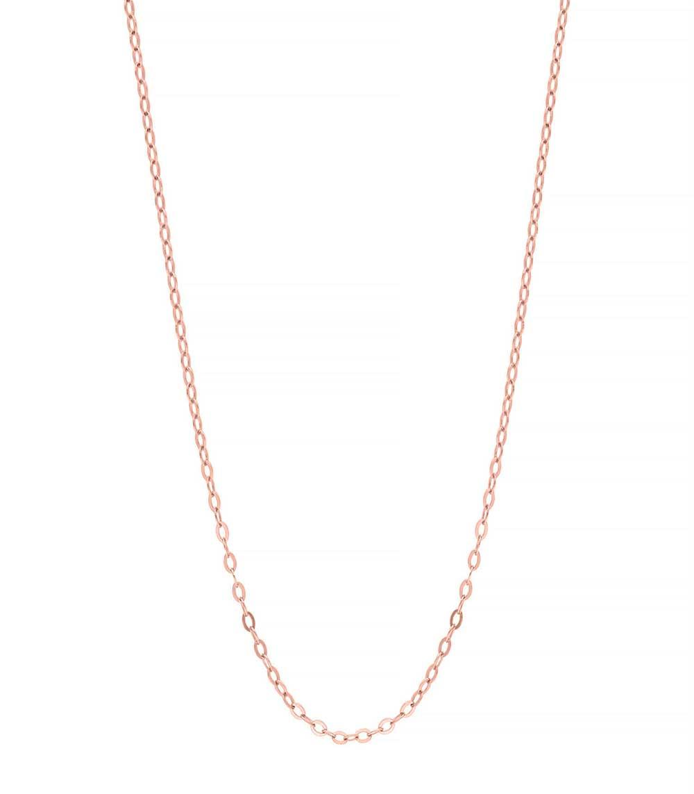 choisir officiel fournir beaucoup de nouveau style et luxe Chaîne or rose frappée 42 cm