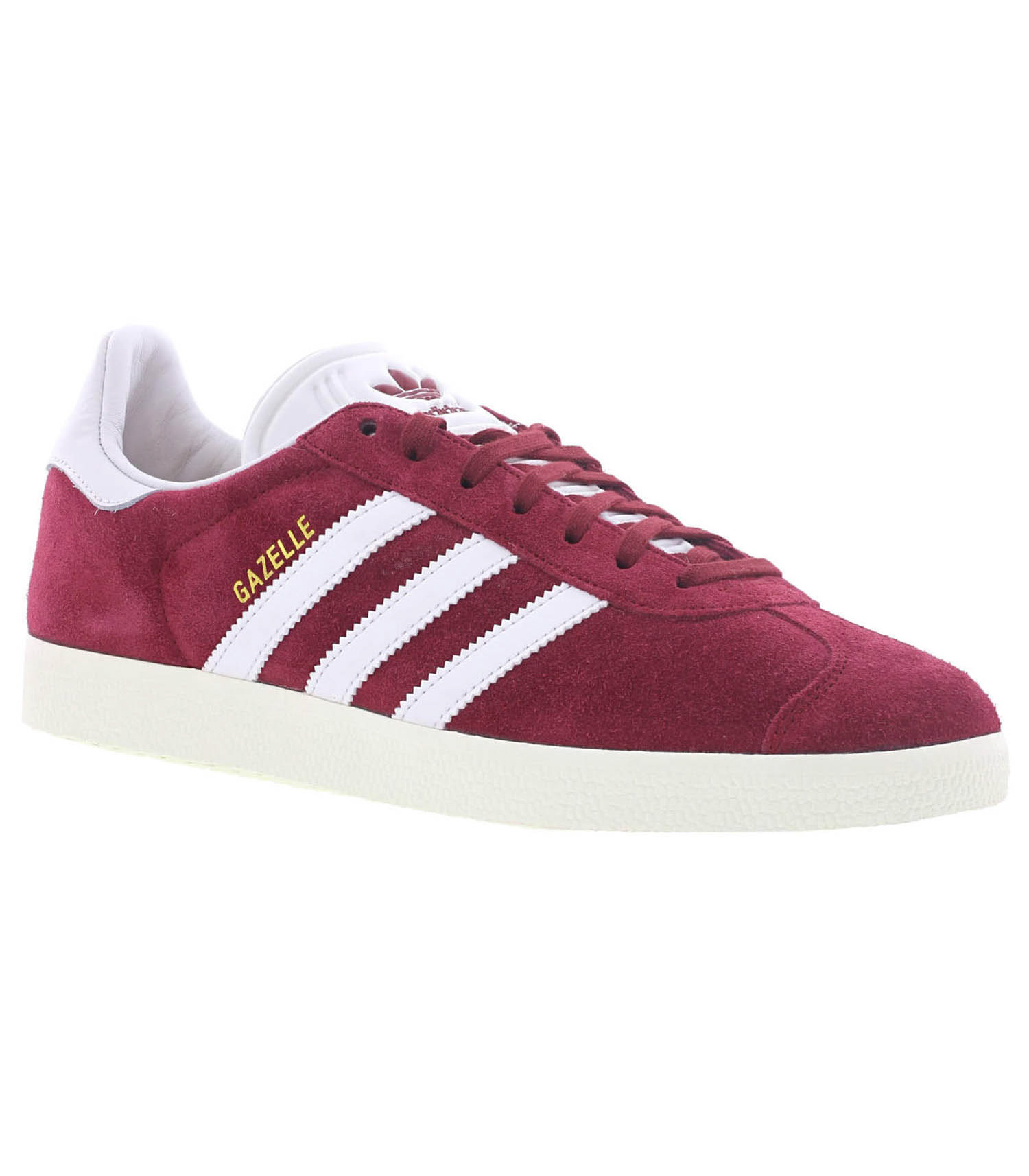 Sneakers Gazelle Bordeaux/Blanc