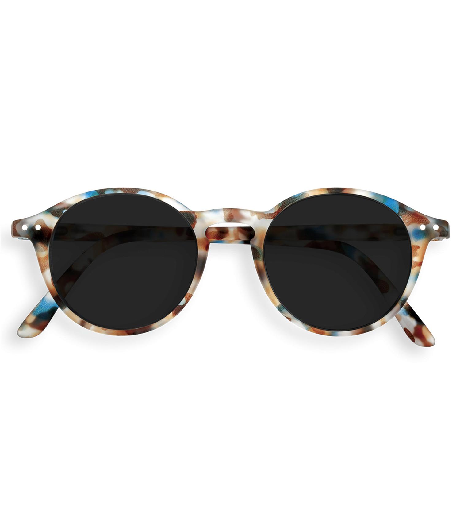 meilleur site web 9f050 cad2f Lunettes de soleil #D Blue tortoise soft grey lenses IZIPIZI - Jane de Boy