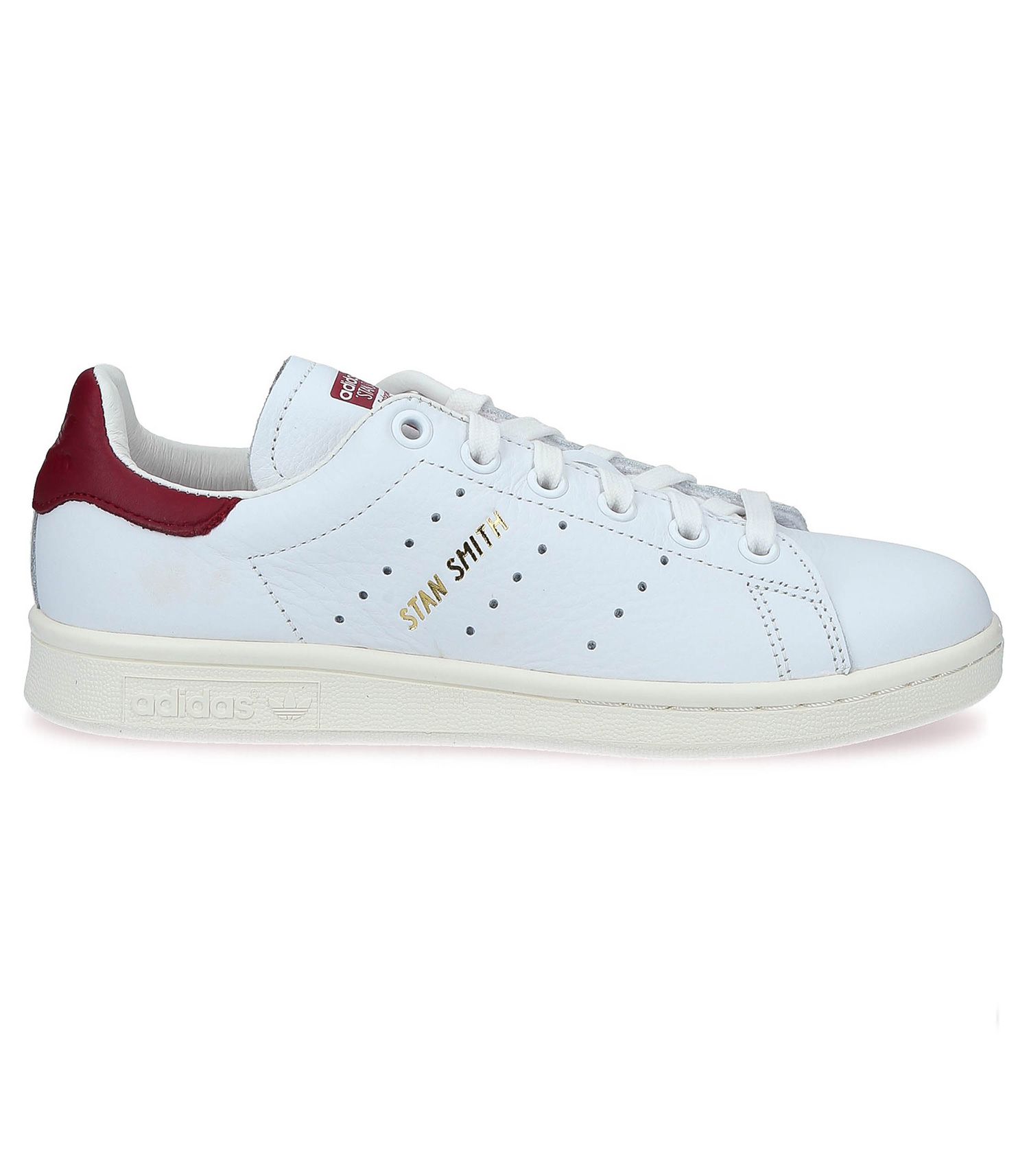 faire les courses pour grande remise super pas cher Sneakers Stan Smith Blanc/Bordeaux adidas Originals - Jane de Boy