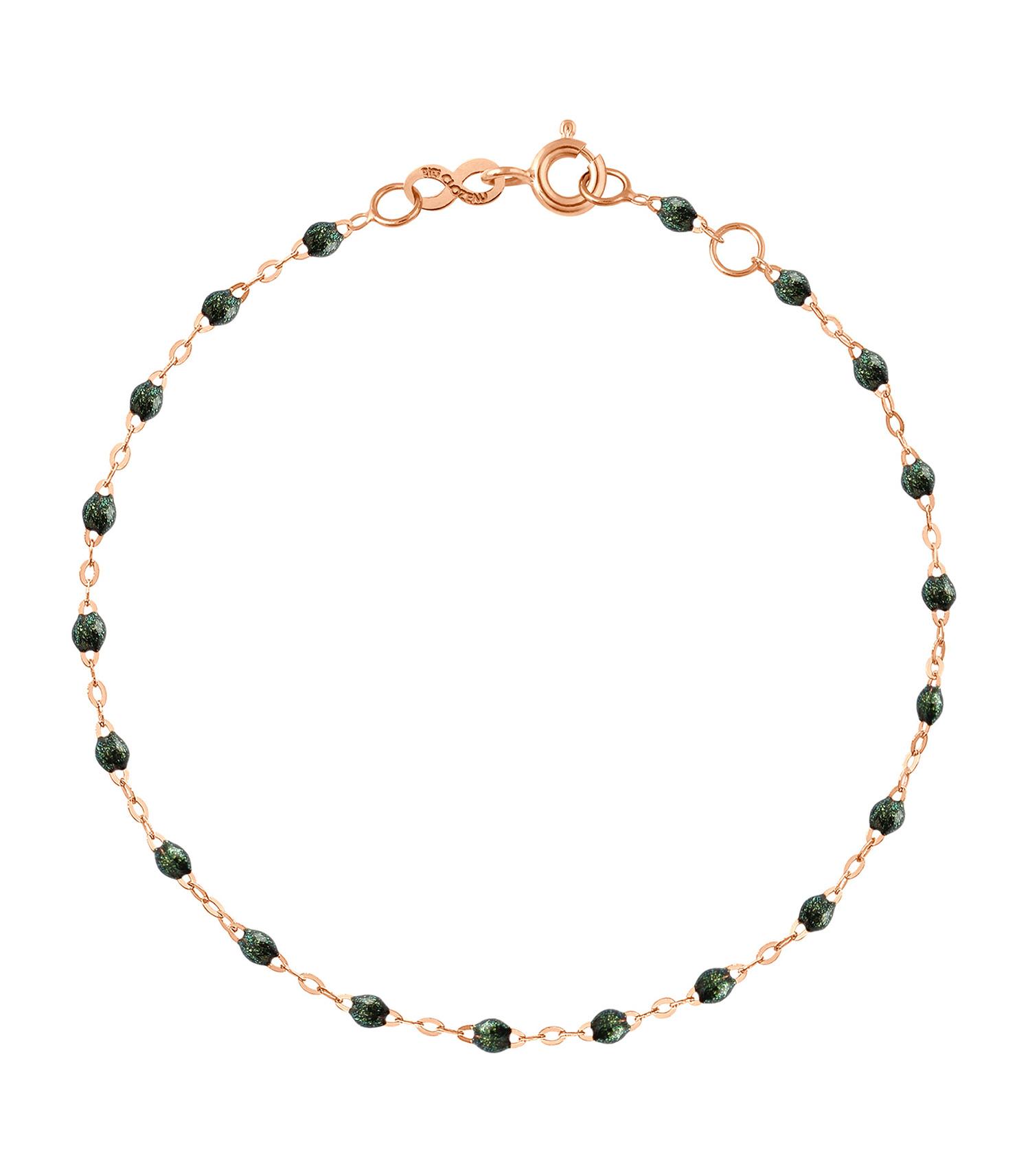 Bracelet or rose et perles de résine Gigi Clozeau , Jane de Boy