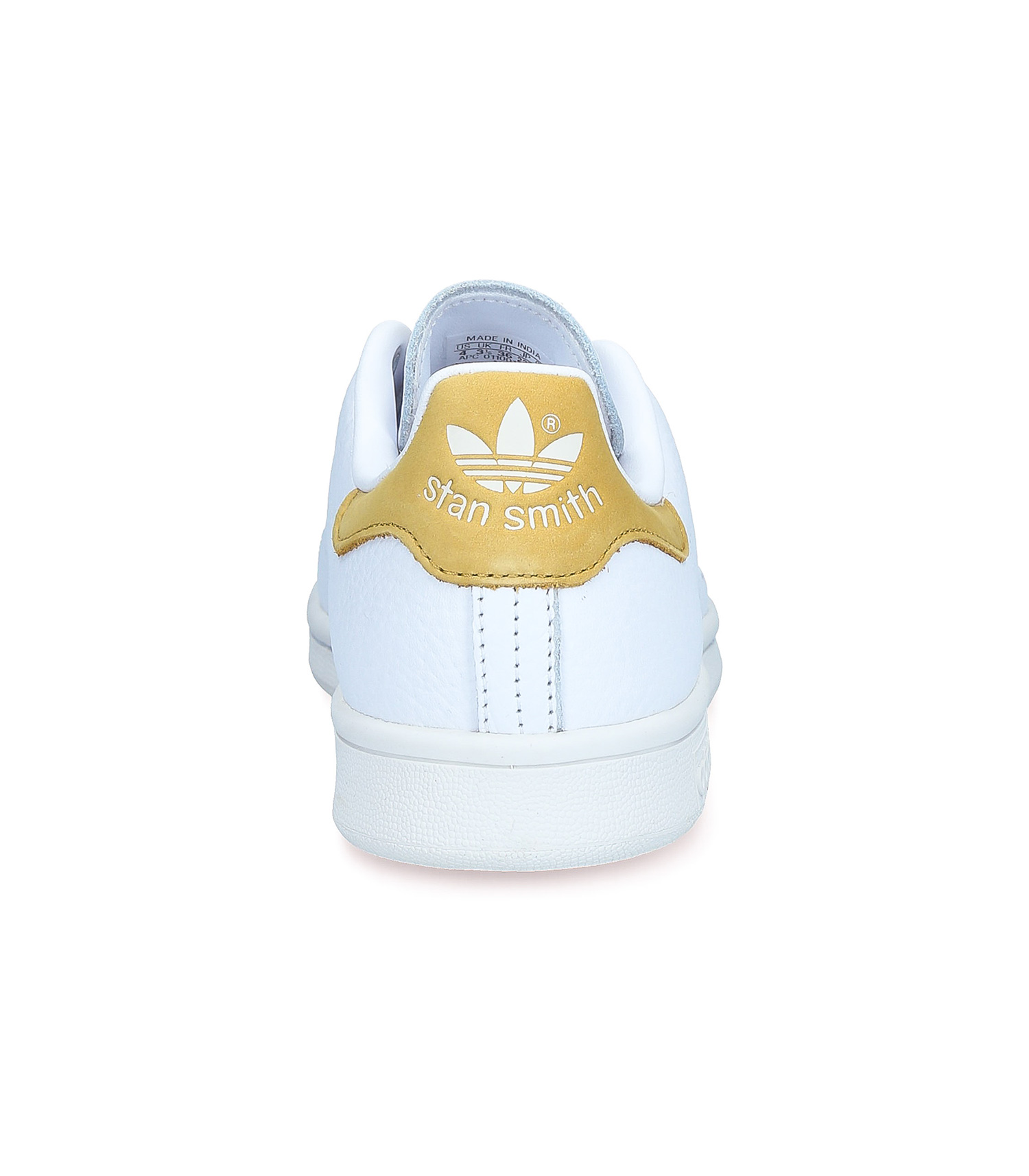 Sneakers Stan Smith Blanc/Moutarde