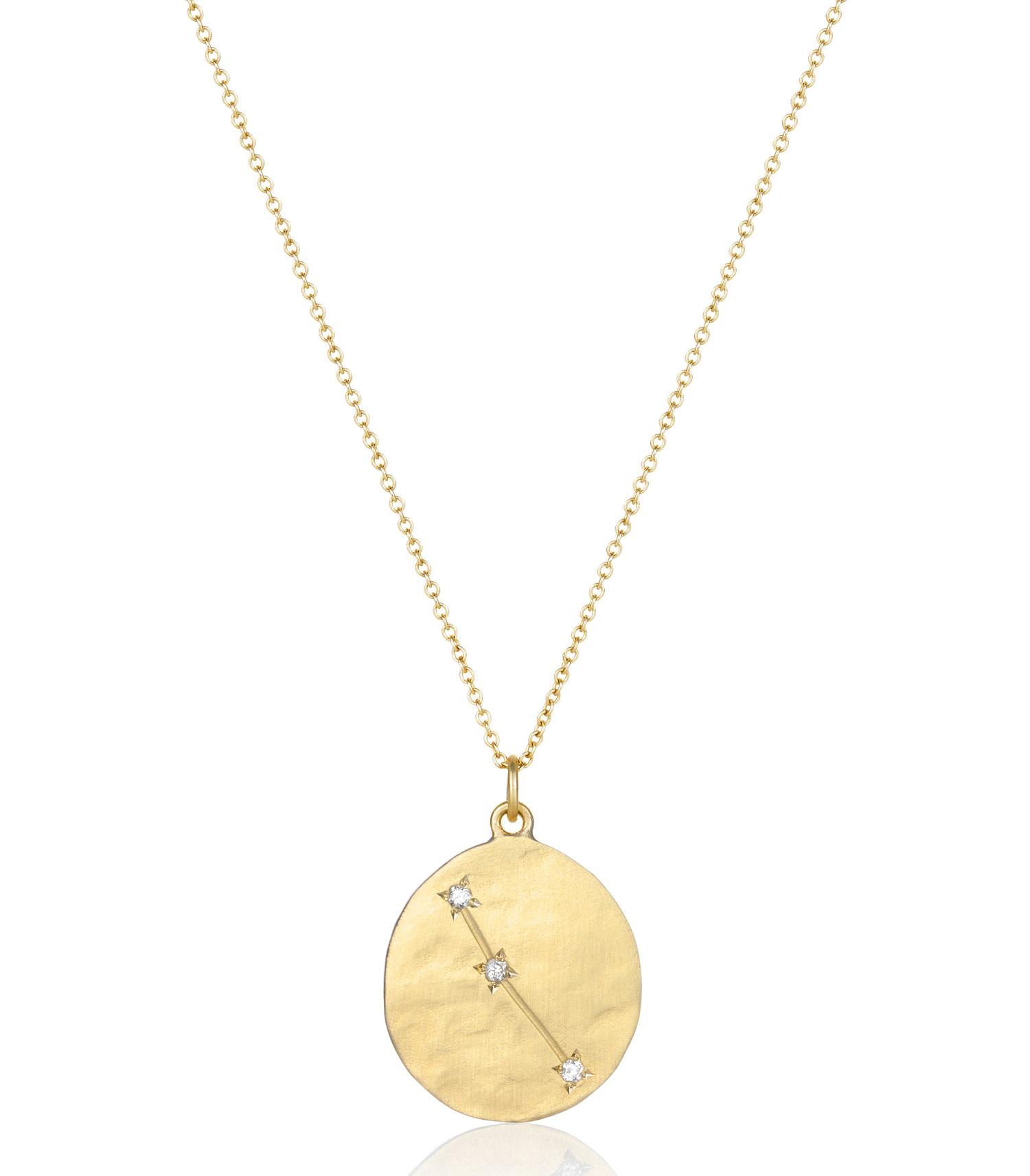 2019 meilleures ventes dernière sélection de 2019 beau lustre Collier Astrologie Bélier Brooke Gregson - Jane de Boy