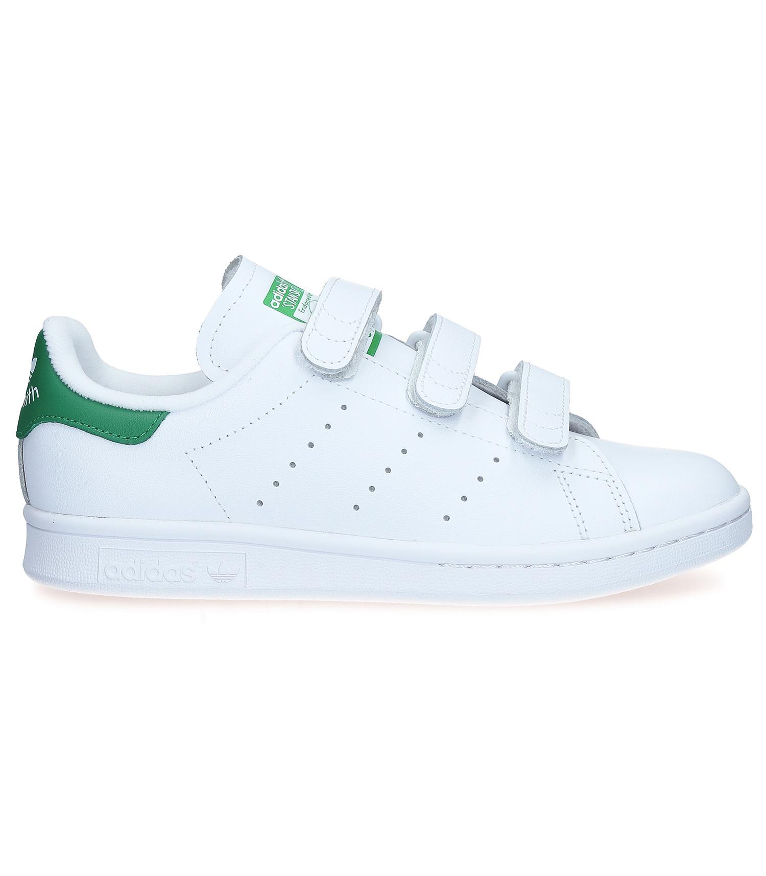 Sneakers Stan Smith CF Blanc/Vert adidas Originals - Jane de Boy
