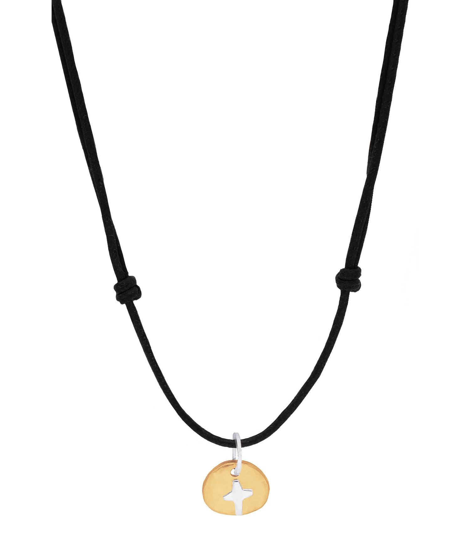 collier cordon argent femme