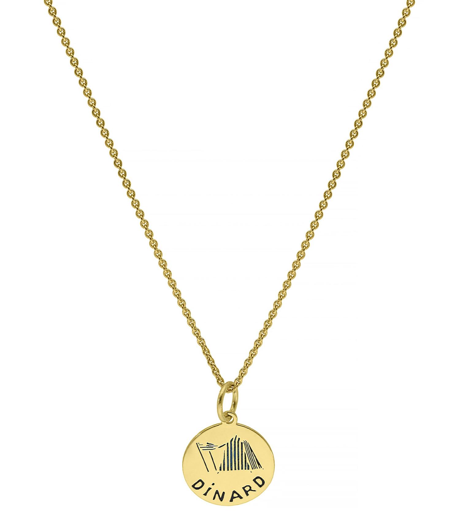 Le Choix De Sophie Dinard médaille dinard sur lien et chaine par coeur - jane de boy