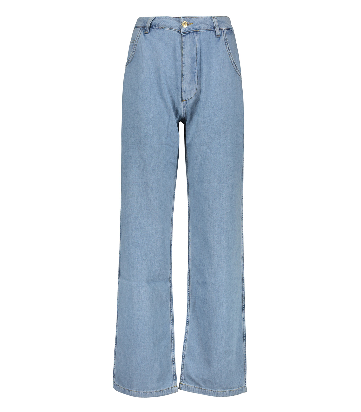 quality products cozy fresh discount sale Pantalon Large Blue Denim Ragdoll LA - Jane de Boy