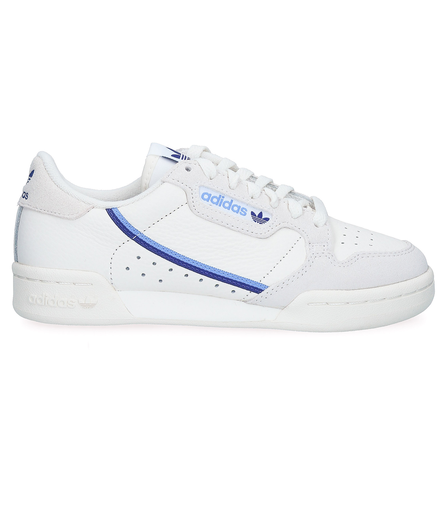 Sneakers Continental 80 Blanc/Bleu adidas Originals - Jane de Boy