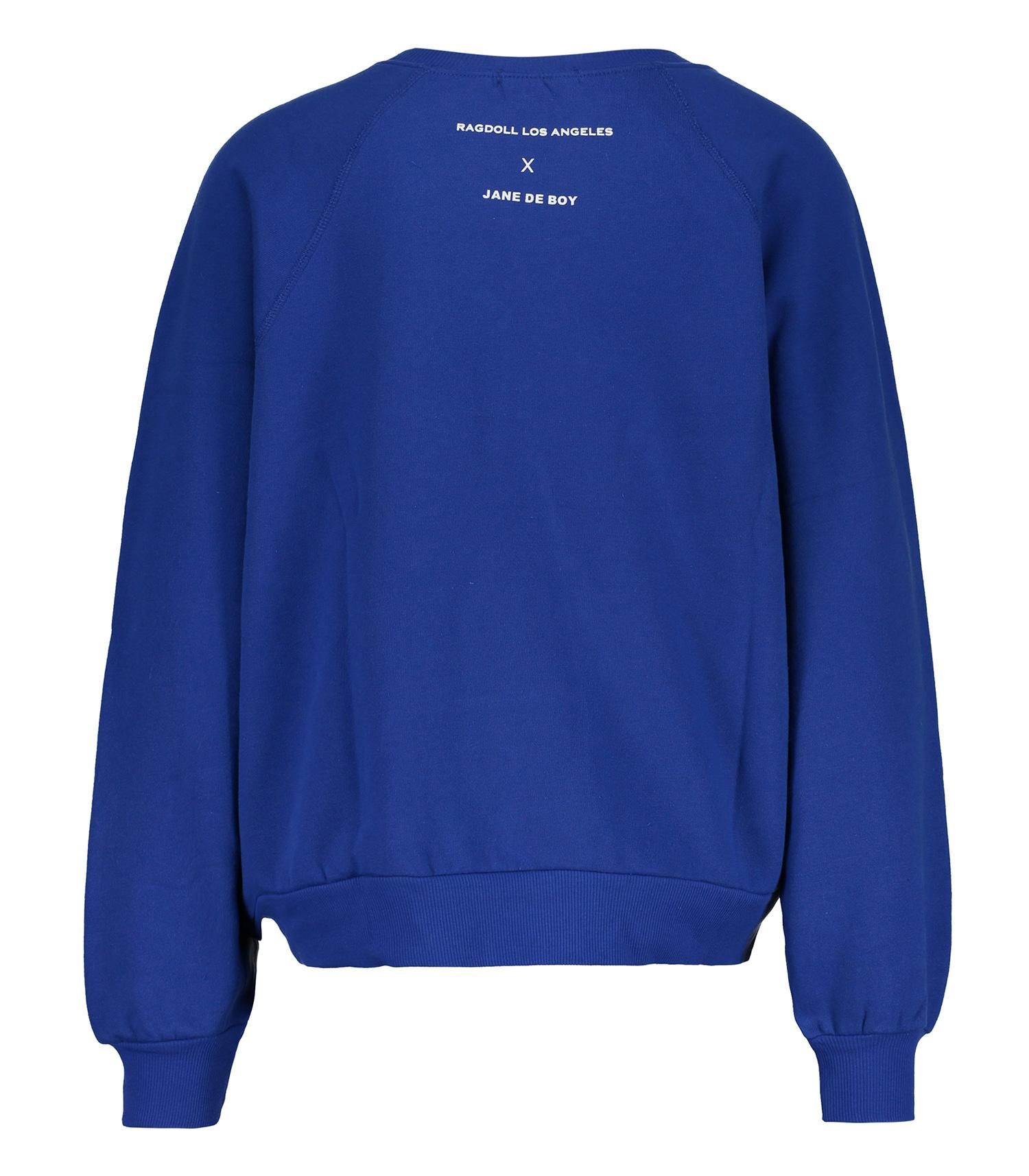 Sweat shirt bleu Ragdoll x Jane de Boy