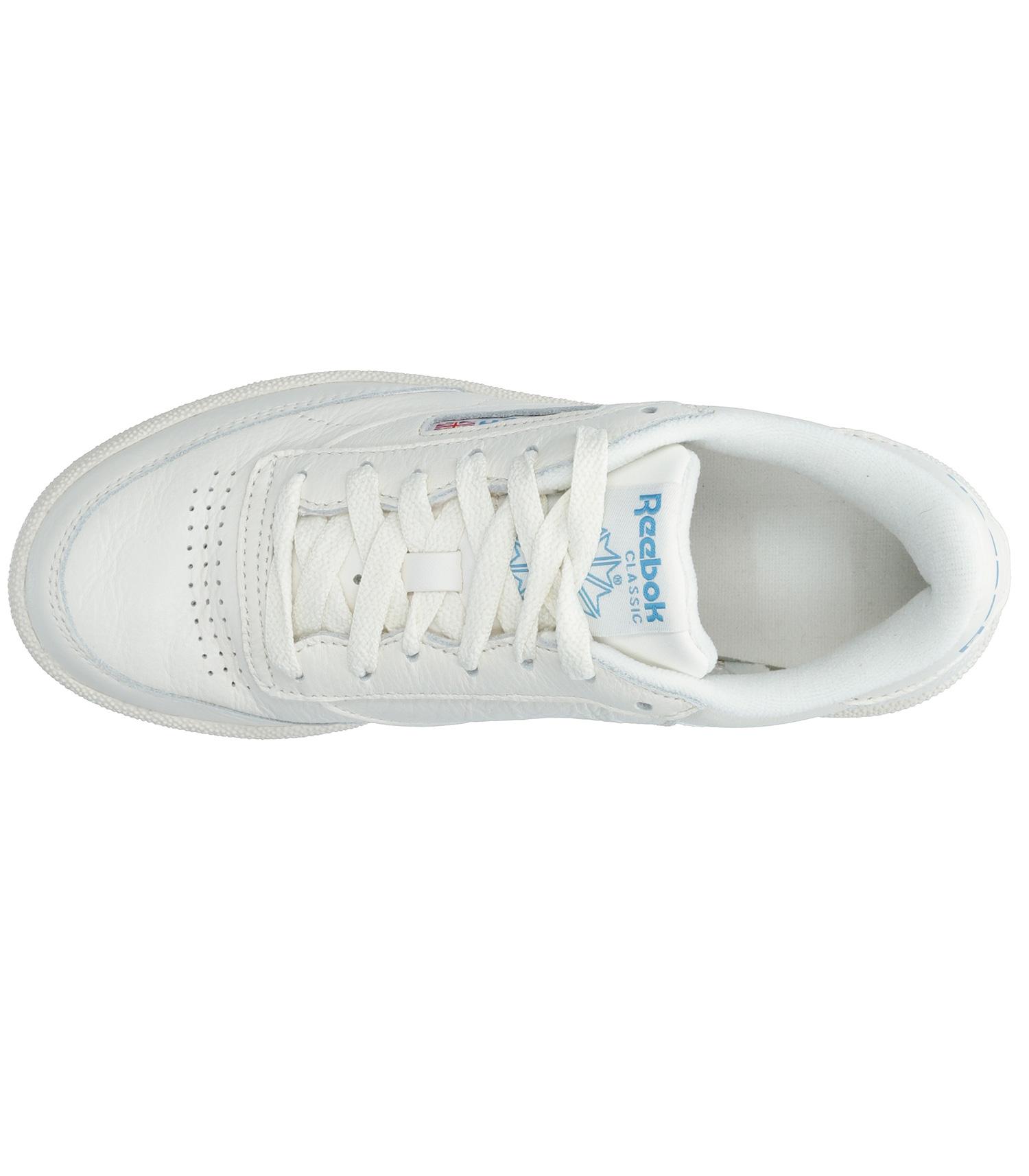 Sneakers Reebok Club C 85 ChalkPaperwhiteCyan Reebok Jane de Boy